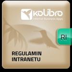 więcej o aplikacji Regulamin intranetu